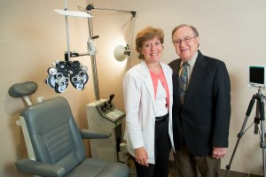 The father-daughter team has treated VH at their Bloomfield Hills practice for 19 years.