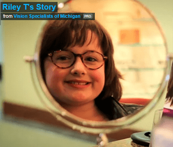 Vision Specialists of Michigan, Riley's Story