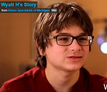 Vision Specialists of Michigan, Wyatt's Story