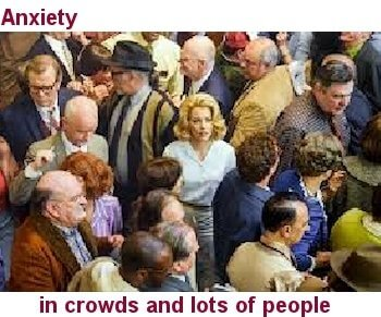 Anxiety In  Large Crowds