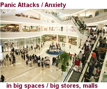 Panic Attacks / Anxiety In Big Spaces