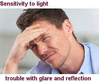 Sensitivity To Light